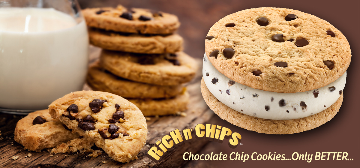 rich n chips ice cream sandwiches