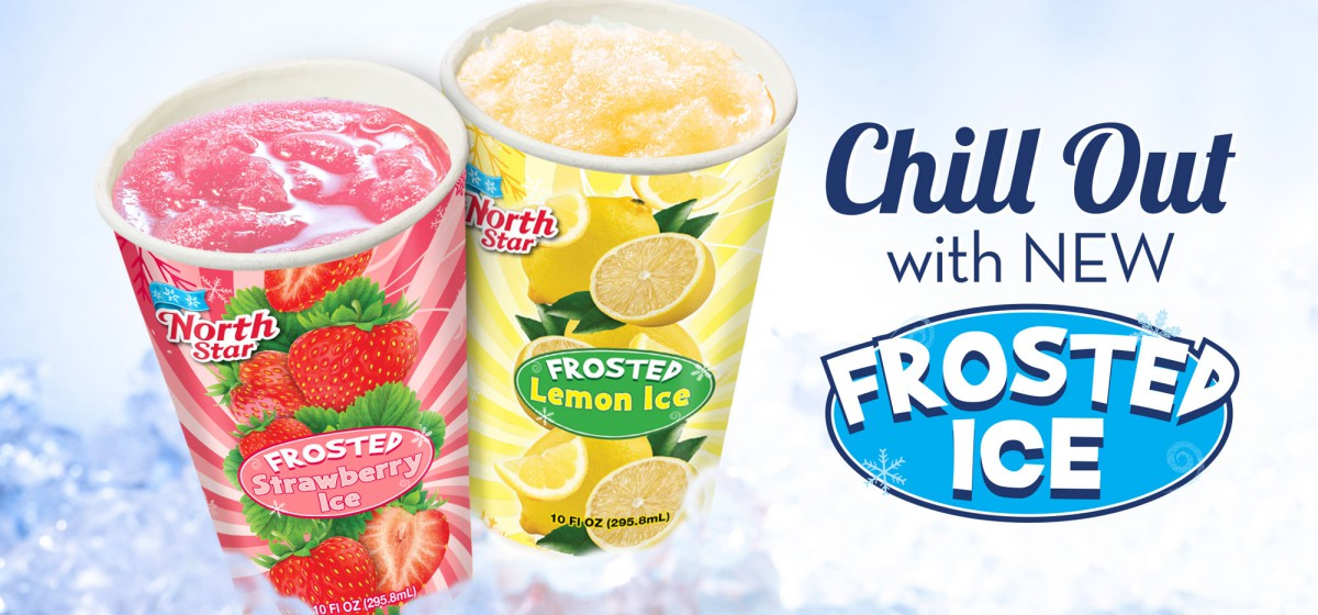 Frosted Ice, Lemon or Strawberry
